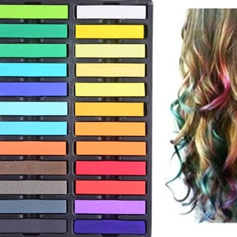 Multipurpose Hair Chalk Pastels
