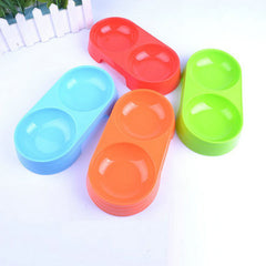 Dual Port Pet Bowls For Cats Drinking
