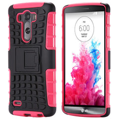 Hybrid Stand Armor Case for LG G3 - BoardwalkBuy - 5