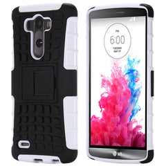 Hybrid Stand Armor Case for LG G3 - BoardwalkBuy - 6