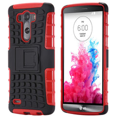Hybrid Stand Armor Case for LG G3 - BoardwalkBuy - 2