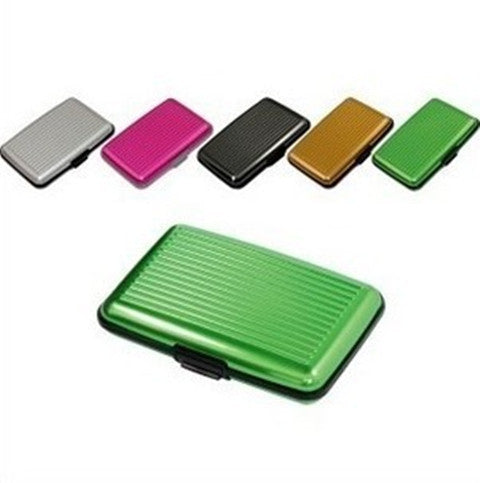 High Quality Metal Shiny  Card Holder Wallet - BoardwalkBuy - 1