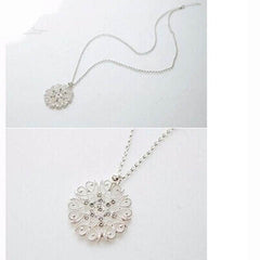Hollow Flower Long Necklace - BoardwalkBuy - 3