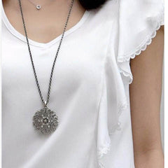 Hollow Flower Long Necklace - BoardwalkBuy - 2