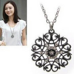 Hollow Flower Long Necklace - BoardwalkBuy - 1