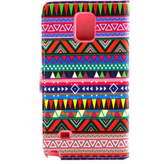 Tribe Pattern Leather Case for Samsung Note 4 - BoardwalkBuy - 5