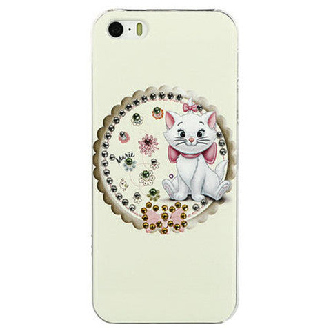 Slim Cartoon Hard Bling Case for iPhone 5