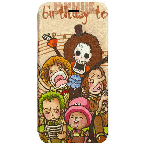 Side Flip Cartoon Leather Case for iPhone 6 - BoardwalkBuy