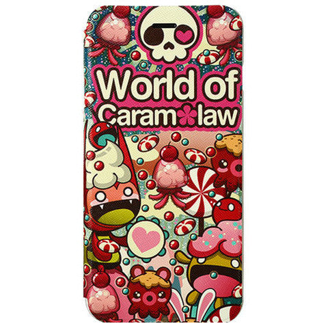 Stand Cartoon Leather Case for iPhone 6 - BoardwalkBuy