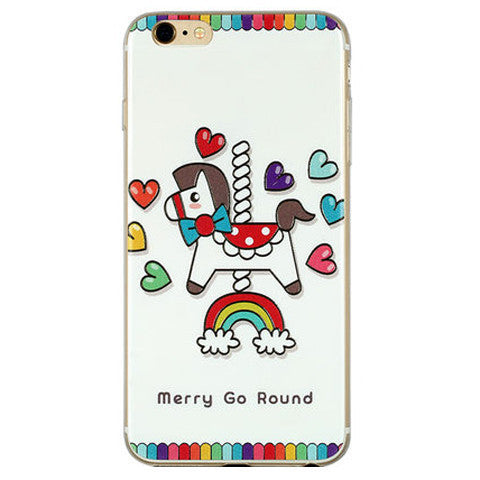 TPU Soft Cartoon Case for iPhone 6 4.7 - BoardwalkBuy