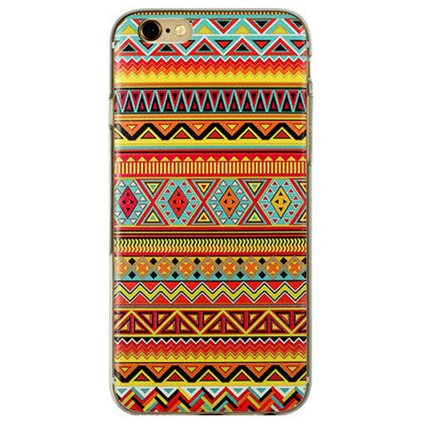 Tribe Pattern TPU Case for iPhone 6 4.7 - BoardwalkBuy