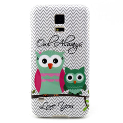 Samsung Galaxy S5 2 Owls case - BoardwalkBuy - 1