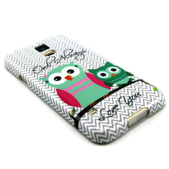 Samsung Galaxy S5 2 Owls case - BoardwalkBuy - 2