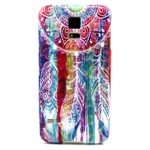 Samsung Galaxy S5 Watercolor Campanula case - BoardwalkBuy - 1