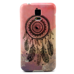 Samsung Galaxy S5 Pink Campanula case - BoardwalkBuy - 1