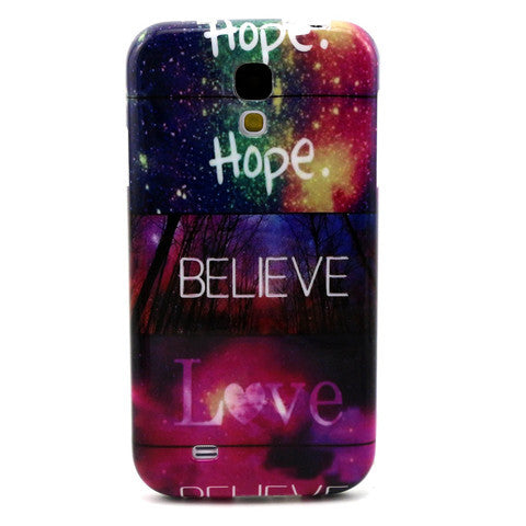 Samsung Galaxy S4 Believe Love Case