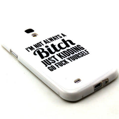 Samsung Galaxy S4 Bitch letter case - BoardwalkBuy - 2