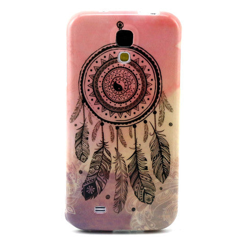 Samsung Galaxy S4 Pink Campanula case - BoardwalkBuy - 1