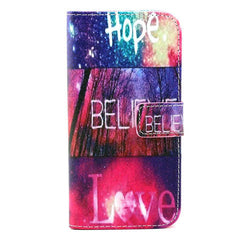 Hope love wallet standard case for Samsung Galaxy S6 edge - BoardwalkBuy - 2