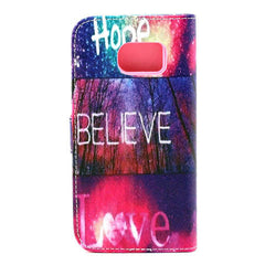 Hope love wallet standard case for Samsung Galaxy S6 edge - BoardwalkBuy - 3