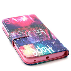 Hope love wallet standard case for Samsung Galaxy S6 edge - BoardwalkBuy - 4