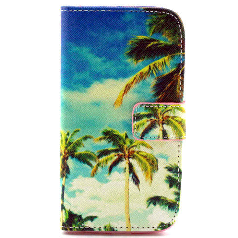 Coco Palm Leather Case for Samsung S4 - BoardwalkBuy - 1