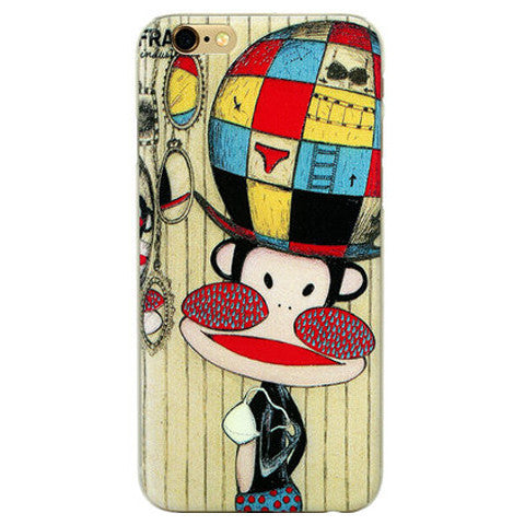 Cartoon Monkey Hard Case for iPhone 6 - BoardwalkBuy