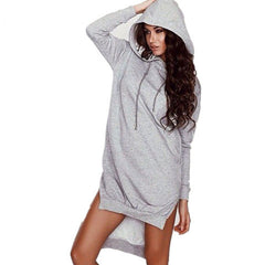 Hoody Sweater Dress - BoardwalkBuy - 3