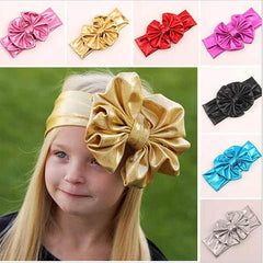 Kids Big Bowknot Stretch Headband - BoardwalkBuy - 1