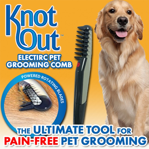 Knot Out Pet Grooming Comb