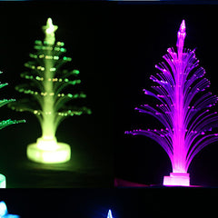 Colorful LED Fiber Optic Nightlight Christmas Tree Lamp Light Children Xmas Gift - BoardwalkBuy - 5