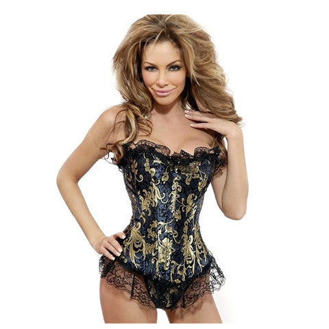 Lacy Bronzing Waist Trainer - BoardwalkBuy - 1