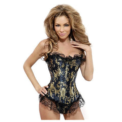 Lacy Bronzing Waist Trainer - BoardwalkBuy - 2