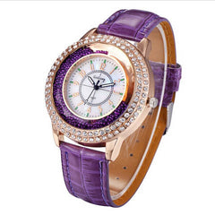 Ladies Crystal Diamond Rhinestone Watch - BoardwalkBuy - 4