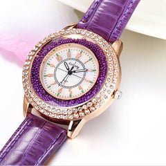Ladies Crystal Diamond Rhinestone Watch - BoardwalkBuy - 3