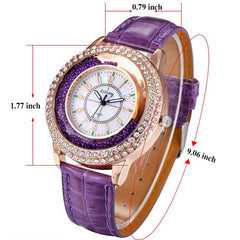 Ladies Crystal Diamond Rhinestone Watch - BoardwalkBuy - 8