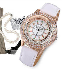 Ladies Crystal Diamond Rhinestone Watch - BoardwalkBuy - 2