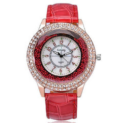 Ladies Crystal Diamond Rhinestone Watch - BoardwalkBuy - 1