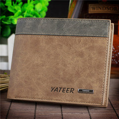 Leather Cards Holder Men Wallet - BoardwalkBuy - 2