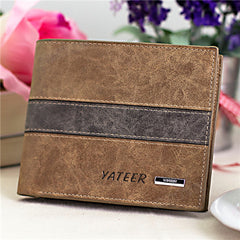 Leather Cards Holder Men Wallet - BoardwalkBuy - 5