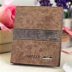 Leather Cards Holder Men Wallet - BoardwalkBuy - 6