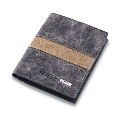 Leather Cards Holder Men Wallet - BoardwalkBuy - 1