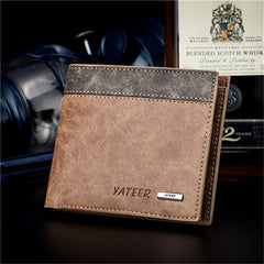Leather Cards Holder Men Wallet - BoardwalkBuy - 10