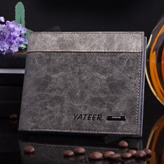 Leather Cards Holder Men Wallet - BoardwalkBuy - 7