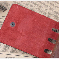 Leather hunter folding Men Wallet - BoardwalkBuy - 8