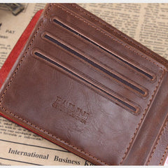 Leather hunter folding Men Wallet - BoardwalkBuy - 9