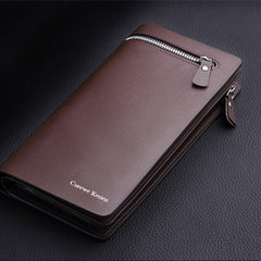 Long Zipper Leather Men Wallet - BoardwalkBuy - 10
