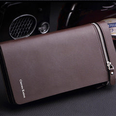 Long Zipper Leather Men Wallet - BoardwalkBuy - 9