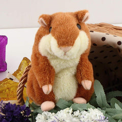 Lovely  Talking Hamster Plush Toy Hot Cute Speak Talking Sound Record Hamster - BoardwalkBuy - 1