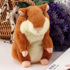 Lovely  Talking Hamster Plush Toy Hot Cute Speak Talking Sound Record Hamster - BoardwalkBuy - 3